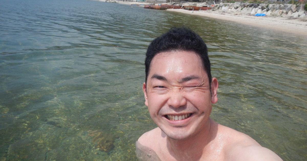 グロVS4月の琵琶湖